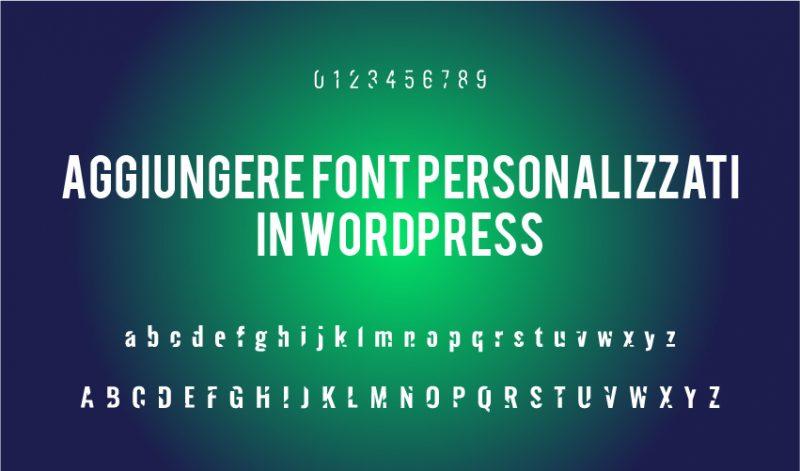 Come cambiare font in WordPress facilmente